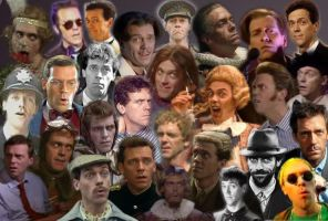 The Many faces of Hugh Laurie by violetthebat