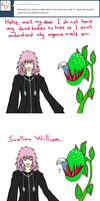 Marluxia and William by Kozekito