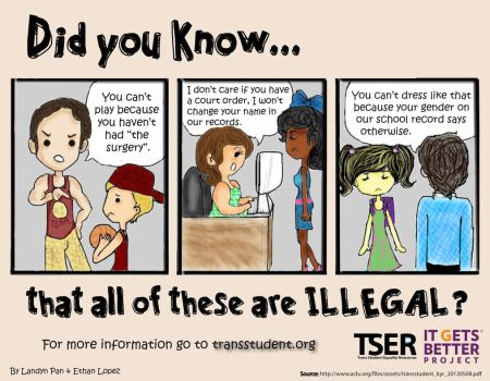Trans* Rights in School by transstudent