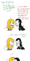 Thorki - You are not a Monster to me by Teddie-Chan