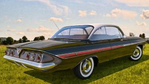 1961 Chevrolet Impala Coupe by SamCurry
