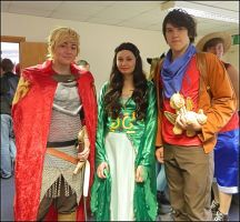 Merlin Trio by MJ-Cosplay