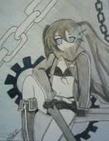black rock shooter by Evil-Alice8