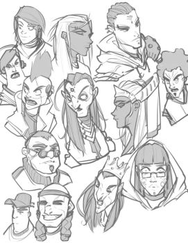 Faces by BrotherBaston