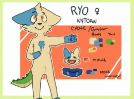 Ryo ref by Fox-mutts