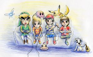 Nintenboys by Kosmotiel