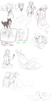 adventures of amy and her pet weredoge by Malwur