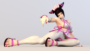 Juri 3DS Render 5 by x2gon