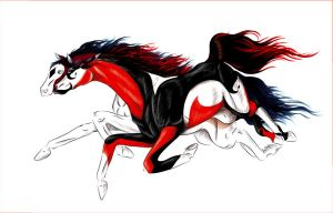 Carnival + Queen of Spades by Everland-Stables