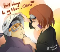 You'll always be my Hero, Obito by flowerhhh