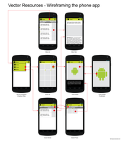 Android UI Design - Wireframing the phone app by hsigmond