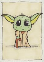 A young Yoda by eileenshige