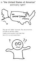 is the USA politically right? by yamumil