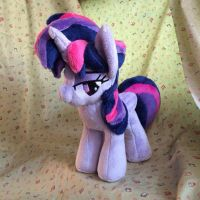 Twilight Sparkle with special mane hair Plush by Ketikaket