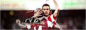 Robin Van Persie - Arsenal Football Club by TiaSevenGFX