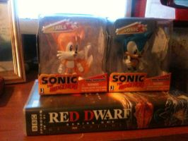 Sonic And Tails Figures by ClassicSonicSatAm