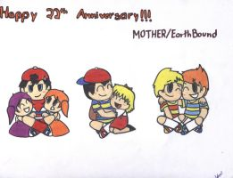 22 years of MOTHER by LovelyKirbyGirly