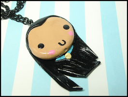 Pocahontas Necklace by GrandmaThunderpants