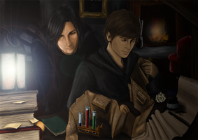 Marauder's Map by scissormetimbers