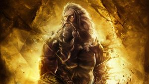 God of War: Ascension Zeus Wallpaper by xKirbz