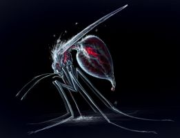 Frostbite Mosquito by rob-powell
