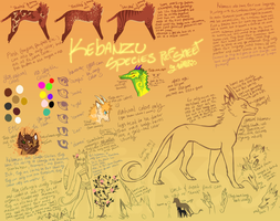 Kebanzu Species Ref Sheet by Hauket