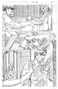 Sequential Art by caananwhite