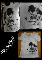 Izaya T-shirt by Aimi-no
