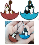 Cat charms by Fjodor