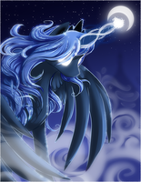Princess Luna by ShadowKiro