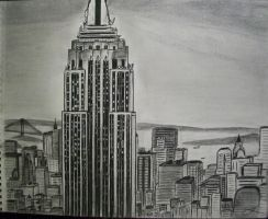 Empire State Building by kohleresque