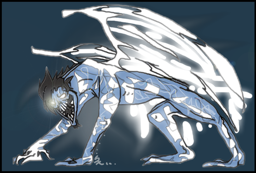 MS Paint Nephilim by AgentMoore