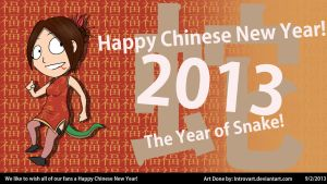 Happy Chinese New Year! (2013) by IntrovArt