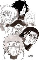 Hokages by s133pDEADart
