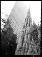NY Series : Cathedral by AlexandreGuilbeault