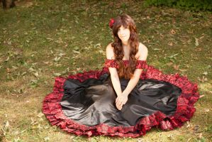 fem! Spain Flamenco Cosplay Hetalia by KagerouRyuzuu