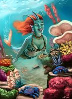 Mermaid by charco