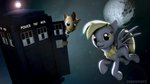 Doctor and Derpy by indexpony