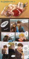 BLEMISH part2 (usuk Doujinshi) by rosketch