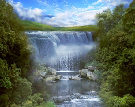 BG River Fantasy Stock 2 by irinama