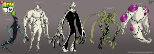 BEN 10: DNA Lab Hybrids 8..... by tnperkins