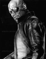 Avengers: Nick Fury by artechx