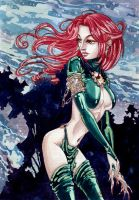 madelyne pryor goblin queen by KseniaSh
