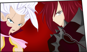 Mirajane y Erza - Fairy Tail by NikiDesing