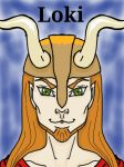 Mythical Portraits: Loki by MaggieRaven