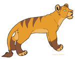 adoptable lioness by Toothie13