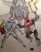 ROM, Raydeen and Acroyear by dannphillips