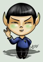 Live Long, Prosper and Cute by Queen-Uriel