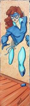 Kitty Pryde bookmark by artildawn