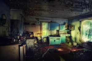 ...the abandoned house by SAMLIM